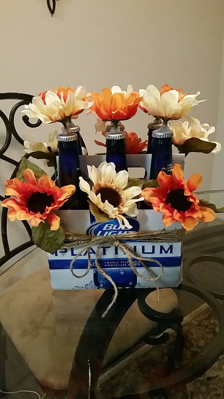 Best 25 beer bouquet ideas on pinterest man bouquet liquor beer bouquet people love this gift i bought 2 small bouquets of flowers dhlflorist Image collections