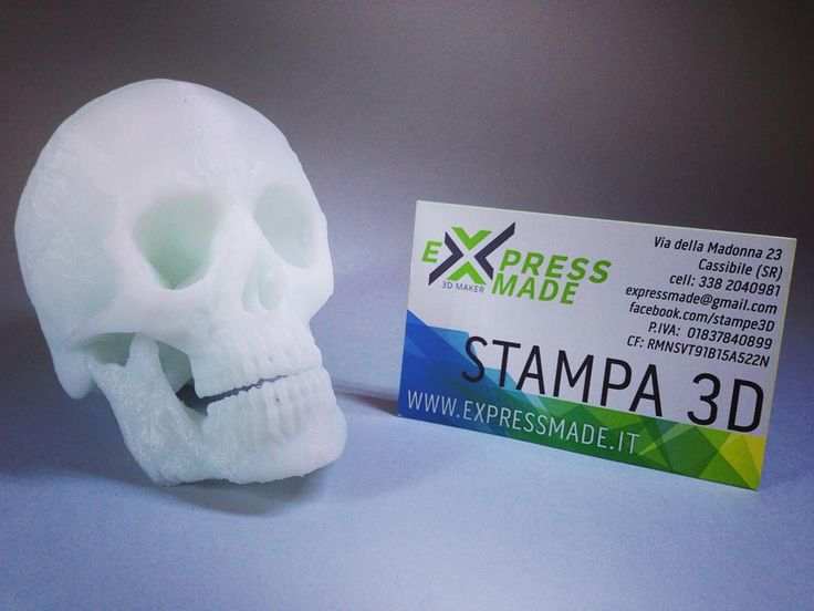 Something we liked from Instagram! Buon halloween a tutti!!!  WWW.EXPRESSMADE.IT  #stampa3d #3dprinting  #stampante3d #3dprinter #cassibile #siracusa  #stampa3dsiracusa  #expressmade3dmaker #prototipazione #3D #pla #protipazione3d #3dmodel #halloween #skull #teschio #cranio by ture1502 check us out: http://bit.ly/1KyLetq