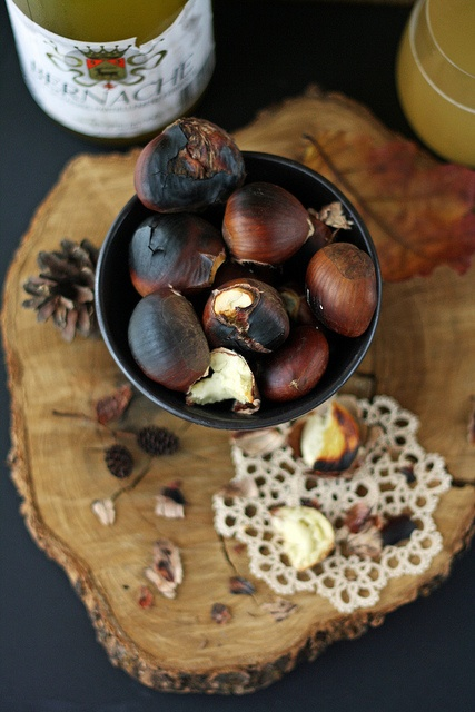 Roasted chestnuts - Le Boudoir Gourmand