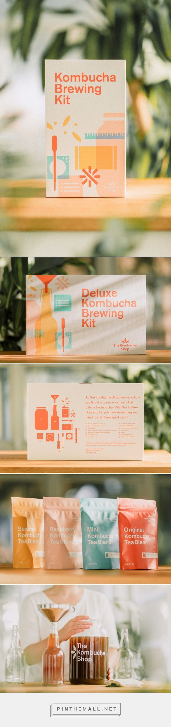DIY Kombucha Kit  packaging by Studio MPLS