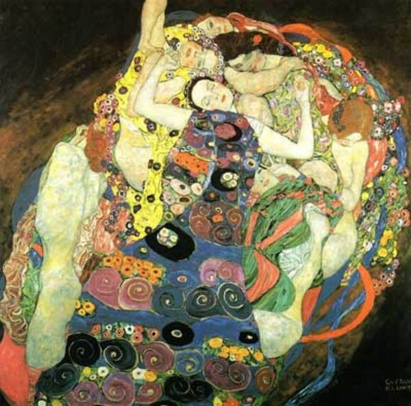 Klimt: Art Nouveau, Oil On Canvas, Art Prints, Artnouveau, Gustav Klimt, Design Art, Klimt Art, Gustavklimt, Painting