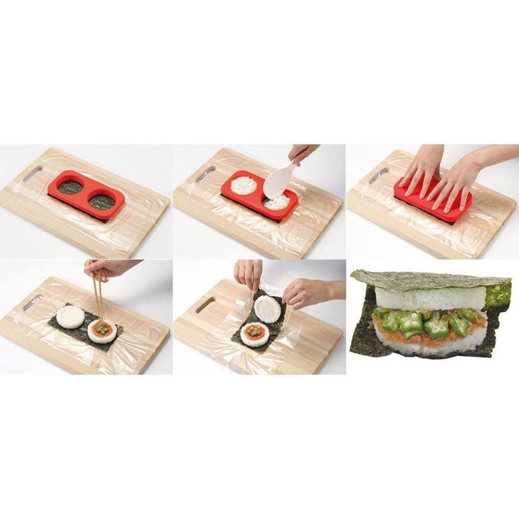 #Bento #rice #burger #maker