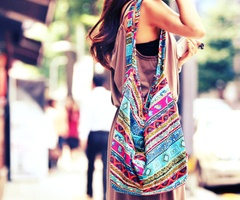 .: Candy Colors, Casual Summer, Style, Totes Bags, Prints Bags, Summer Bags, Boho Bags, Tribal Prints, While