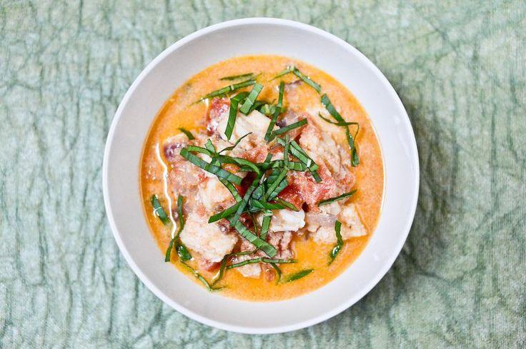 Curry de poisson facile, tomates et lait de coco Recette