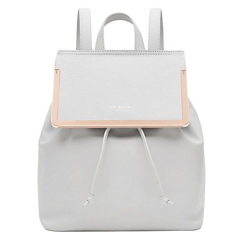 Ted Baker Lyliana Leather Backpack, Ash