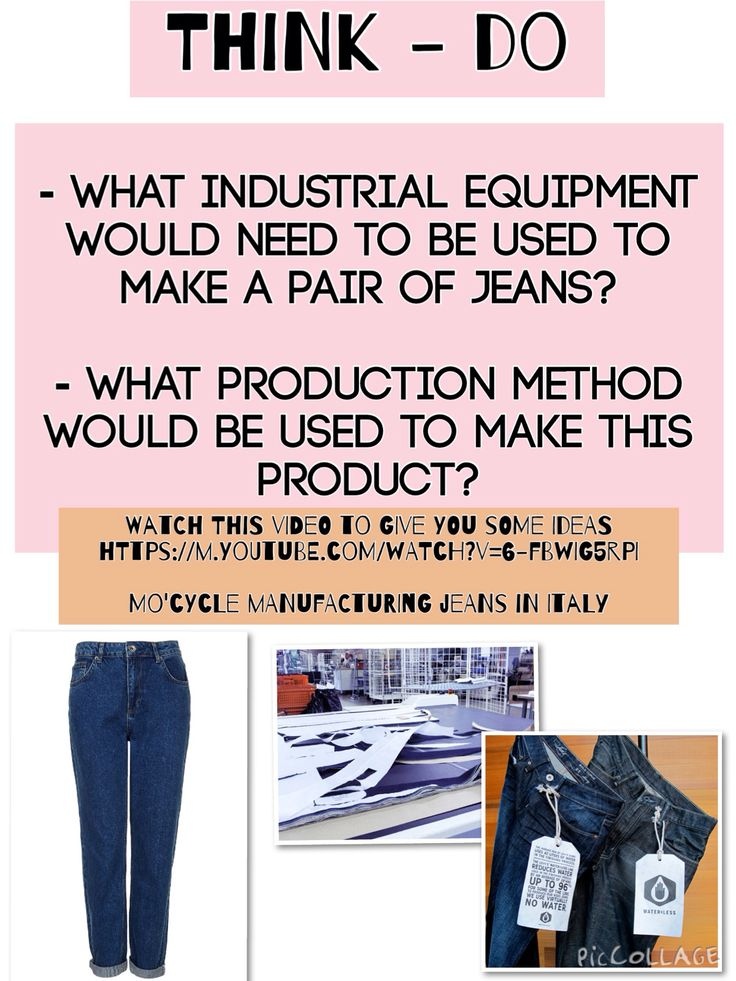 Production methods/ industrial equipment