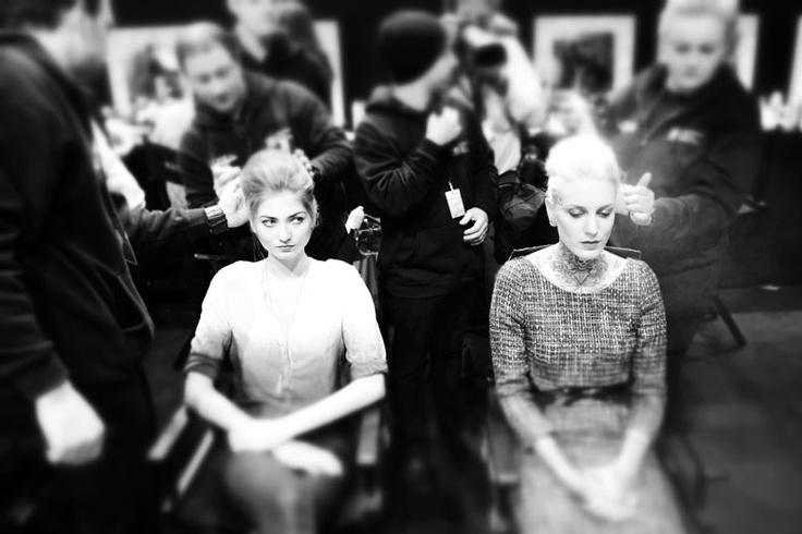 Fashion Days Zurich: Backstage mit Luisa Hartema und