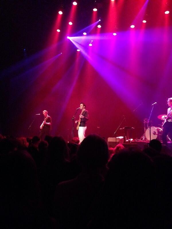 Justin Nozuka took the stage in Amsterdam on April 6th. // Credit goes to  Fleur Vosbeek @fleurvosbeek on twitter.