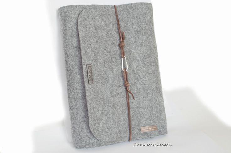 DIN A4 - personalisiert Notizbuch Hülle Ringbuch A4 Leder - ein Designerstück von formalana bei DaWanda