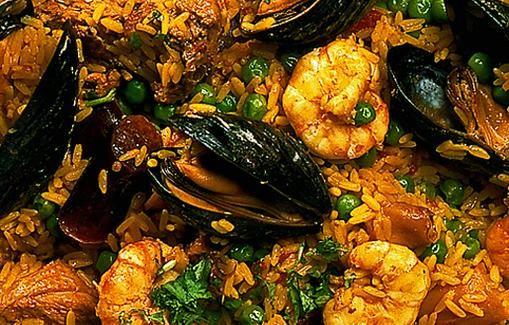 Paella on Espanjan kansallisruoka.