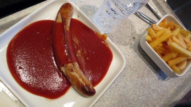 Ein zu hoher Fleischanteil und zu stark verarbeitete Lebensmittel, ein normales Mittagessen.