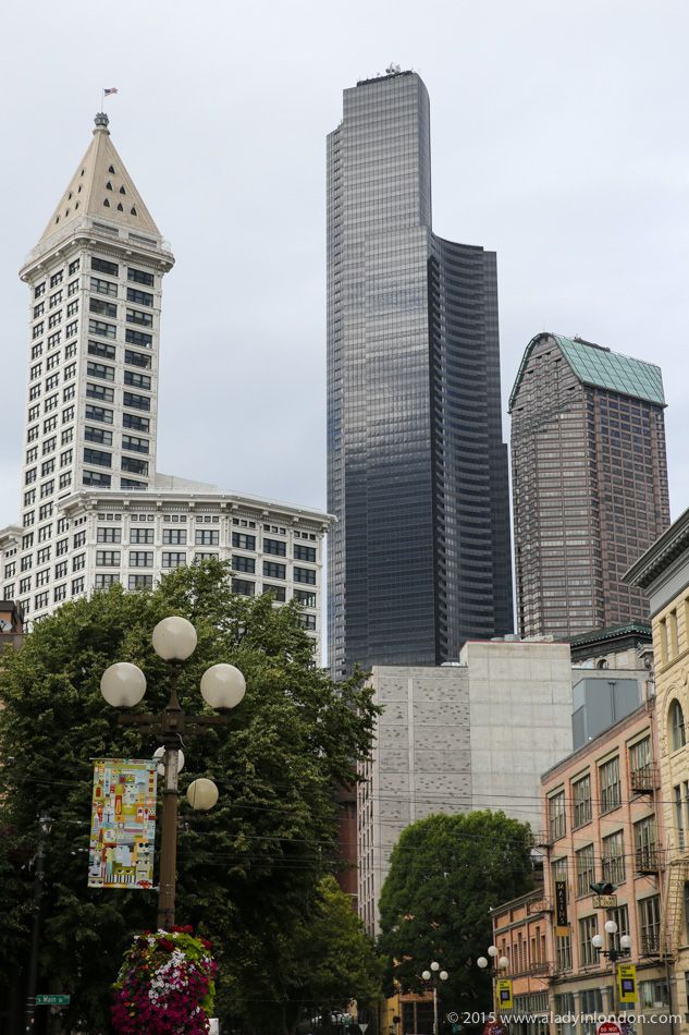 Things to do in Seattle! Downtown Seattle's Pioneer Square has seen a revival in recent years, and the area has great restaurants and nightlife. It also offers good views of the city's skyscrapers!
