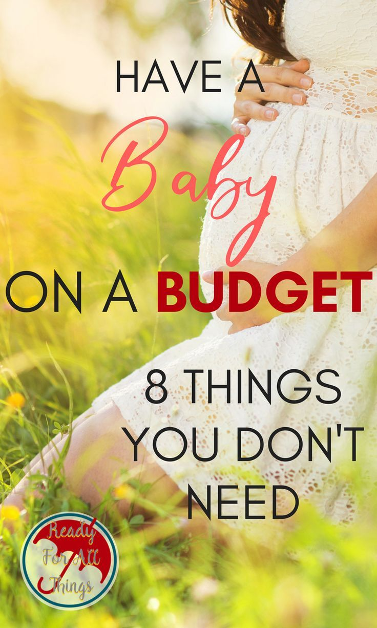 Preparing to have a baby doesn't have to cost a fortune! During your pregnancy, you can save money by skipping these popular baby items that you don't need. You'll be a smart and frugal mama as you use this checklist to create your registry. #baby #budget