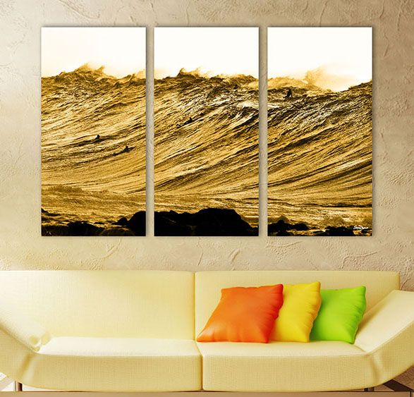 %Gold Nugget  -  Surf art canvas% - %seandavey.com%