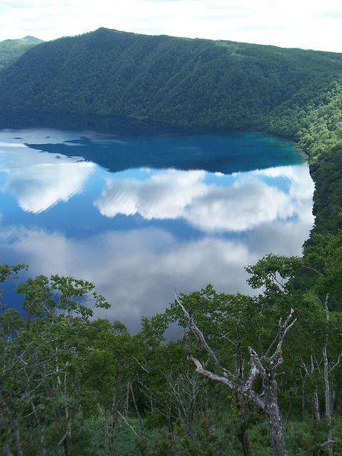 Masyuko lake, Hokkaido  摩周湖 (摩周湖第一展望台)