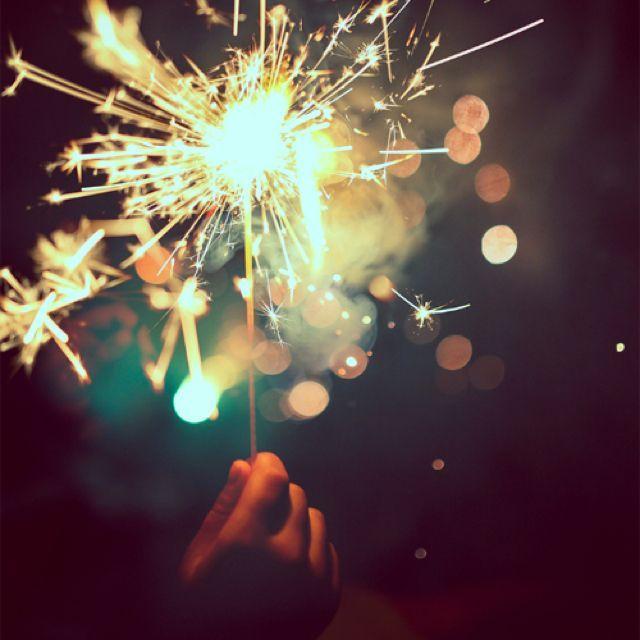 Sparklers! #celebrateeveryday