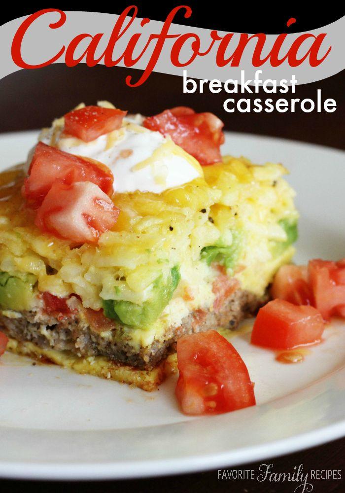 California Breakfast Casserole - Favorite Family Recipes