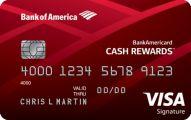 BankAmericard Cash Rewards Credit Card Application