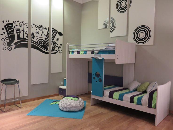 1000 ideas about camas cuchetas en pinterest - Habitaciones infantiles dobles ...