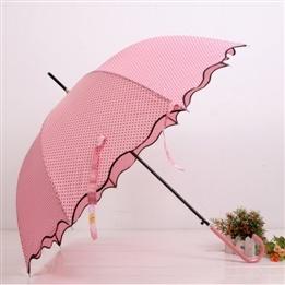 Pink umbrella... I want!