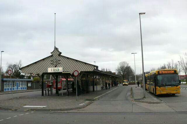 Tramplein het oude busstation