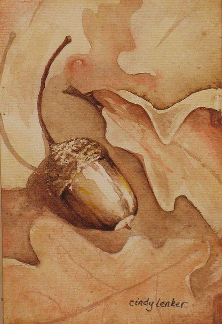 One Little Acorn by cindyzlogic, via Flickr