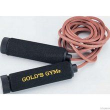 GoldsGym Golds Gym Weighted Leather Skipping Rope - Available in Black Colour http://www.comparestoreprices.co.uk/keep-fit/goldsgym-golds-gym-weighted-leather-skipping-rope.asp