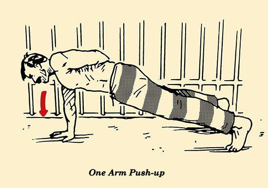 The Prisoner Workout: Killer Bodyweight Exercises for Small Spaces