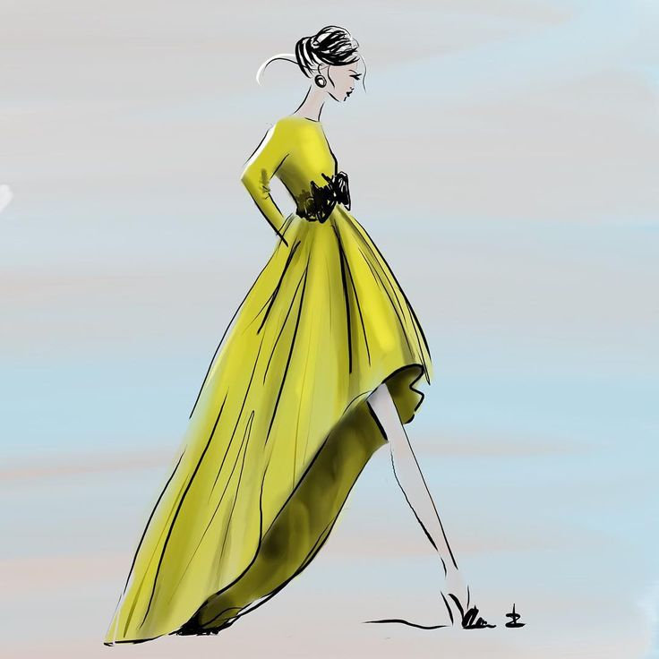 Amazing collection skirts designed by Giada Curti - Italian Fashiondesigner - sketch by Linda Zoon