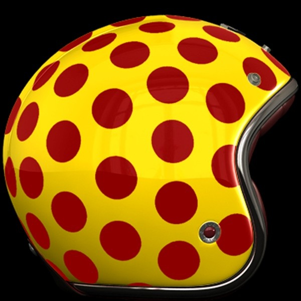 Ruby Pavillon Costume Polka Lacquered Yellow/Red