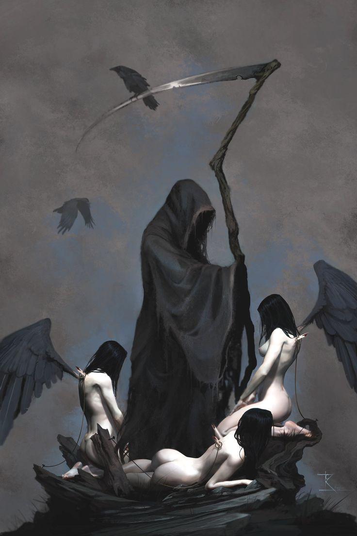Death by Wreckluse.deviantart.com on @DeviantArt