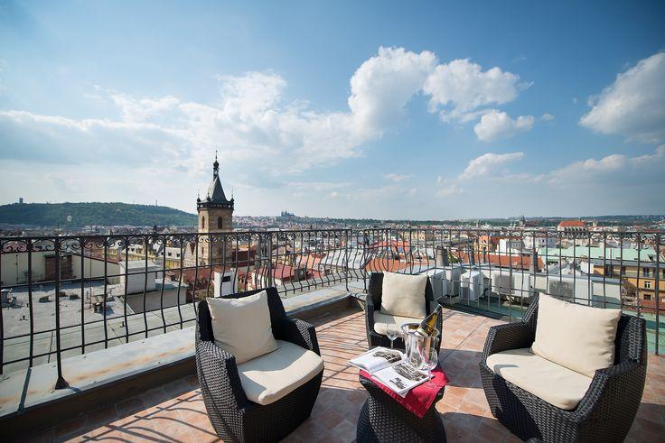 Prague Castle View Suite terrace