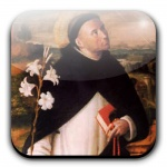 St. Dominic- My grade school was run by Dominican sisters and friars. That school was a disciplined machine, let me tell ya! But it made me a better person today and gave me a good base for my faith.