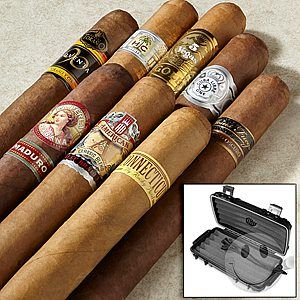 Cigars International First Class Premium Cigar Sampler. 8 cigars for $10.00 plus shipping. Add a herf-a-dor for ... #LavaHot http://www.lavahotdeals.com/us/cheap/cigars-international-class-premium-cigar-sampler-8-cigars/106093