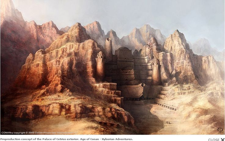 Age of Conan: Unchained - Palace of CetrissHyborian Age, Videos Games, Concept Art, Games Artworks, Palaces, Conan, Fantastic Landscapes, Games Age, Cetriss Concept