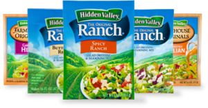 Ranch vinegarette
