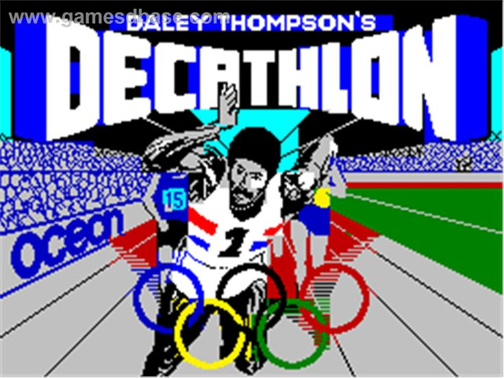 Daley Thompson's Decathlon, Sinclair ZX Spectrum 48k