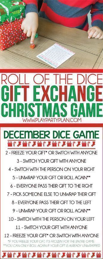 If you're looking for Christmas party games, you're in the right place. These 10 Christmas gift exchange games are hilarious and a perfect alternative to the traditional white elephant gift exchange game! Tons of funny idea for adults, for groups, for kids, for family parties, for office events, and more! Play them in the classroom, at work, or even at school. #christmaspartyideasorkids #christmasgamesforadults #christmasforkids #christmasgamesforkids