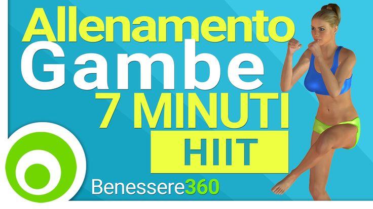 Allenamento Gambe in 7 Minuti. I Migliori Esercizi per Dimagrire ed Aver...