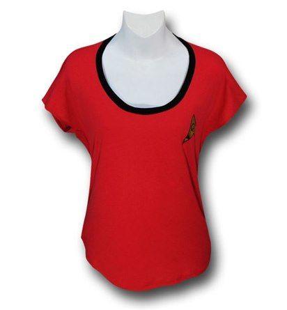 Star Trek Uhura Costume Dolman Women's T-Shirt