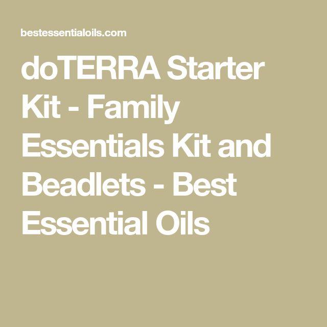 doterra family essentials kit pdf