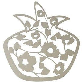 Pomegranate Trivet by Melanie Dankowicz