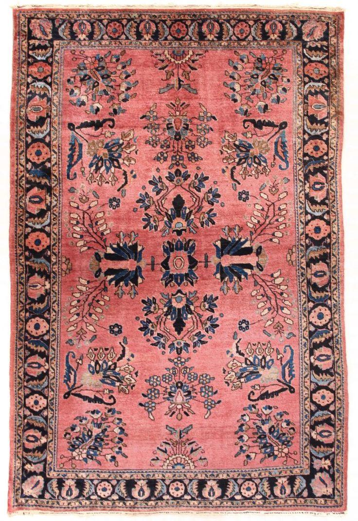 Saruk Carpet, Northwest Persia; circa 1900 4ft. 4in. x 6ft. 6in.