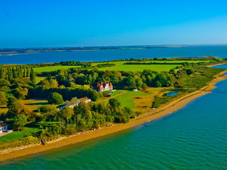 You can stay on this uninhabited private island in Essex, complete with helipad, where the celebrity party crew hangs out from just £355 a night - You would be forgiven for not knowing that Osea Island even existed. But just a couple of hours' drive from central London, sat serenely on the Blackwater River, is Essex's best kept secret.  Osea, an uninhabited private island frequented by celebrities and the fashion and music industry elite, sits across almost 400 acres of idyllic countryside…
