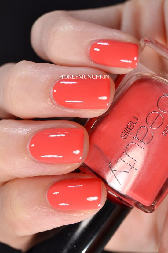 Swatch of Gina Tricot Beauty – 178 Peach Coctail
