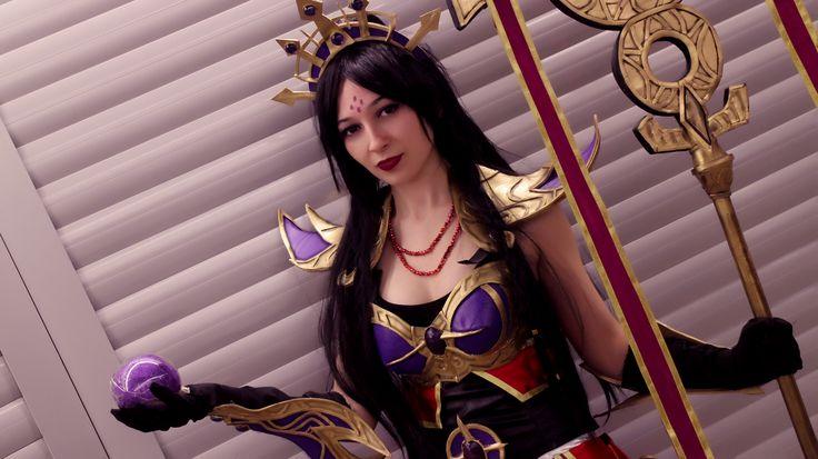 Diablo 3 Purple Wizard Cosplay https://www.facebook.com/moonacosplay/