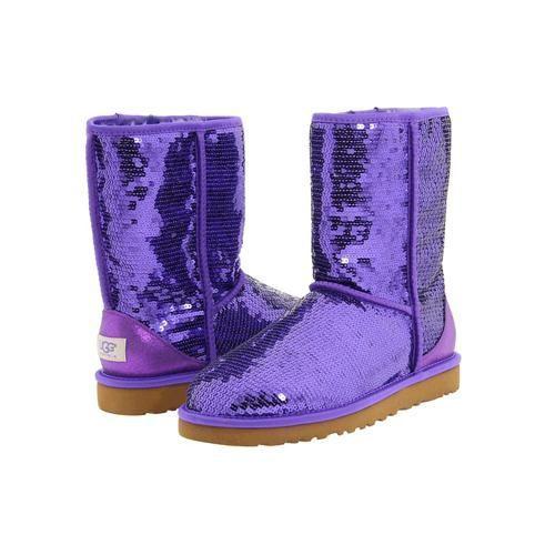 Women UGG Short Sparkles Boots 3161 In Blue|ugg outlet store $129.35