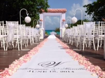 View Our Catalog To See The Impact That A Quality Wedding Aisle Runner Will Make On