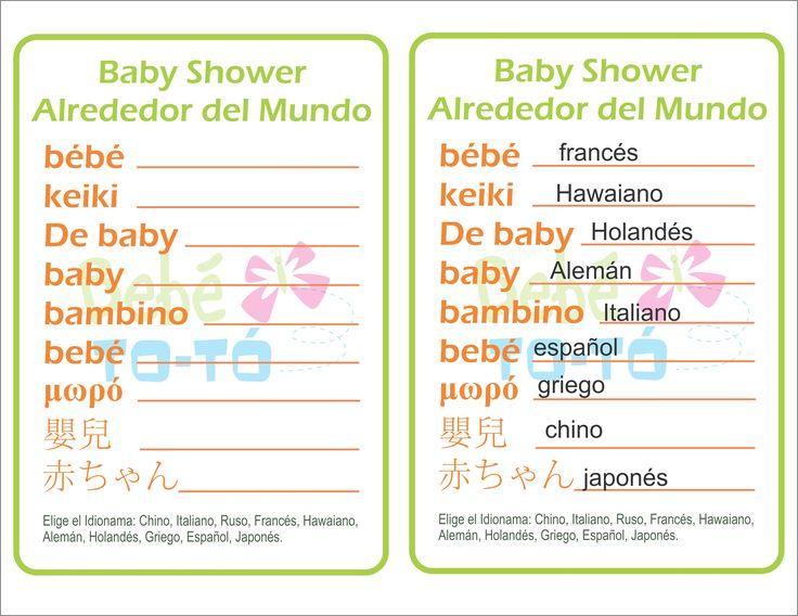 Descubre diferentes formas de decir Bebé en el mundo. Divertido ...