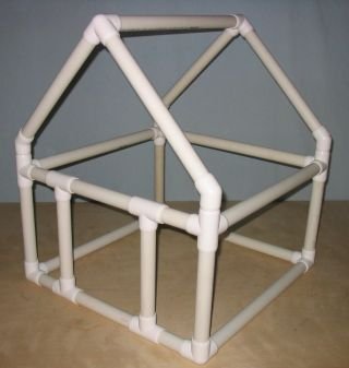 137 best images about pvc pipe projects on pinterest pvc for Pvc playhouse kit